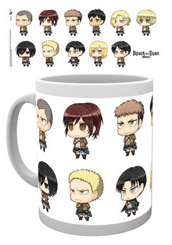 Tasse Attack on Titan (Shingeki no kyojin) - All Chimis