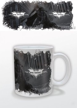 Tasse Batman The Dark Knight Rises - White Logo