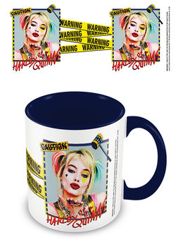 Tasse Birds Of Prey: The Emancipation Of Harley Quinn - Harley Quinn Warning