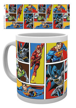 Tasse DC Comics - Justice League Grid