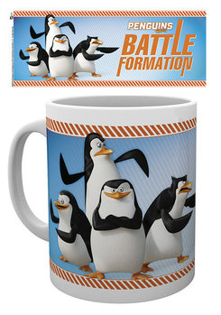 Tasse Die Pinguine aus Madagascar - Battle Formation