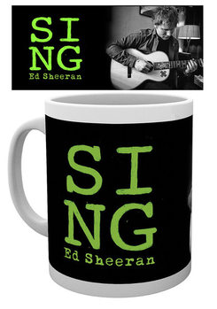 Tasse  Ed Sheeran - Close Up