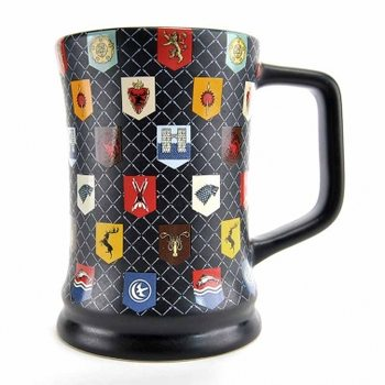 Tasse Game Of Thrones - Matt Glaze Sigils