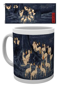 Tasse  Hiroshige - New Years Eve Foxfire