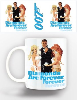 Tasse James Bond - diamonds are forever