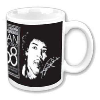 Becher Jimi Hendrix - San Francisco 68