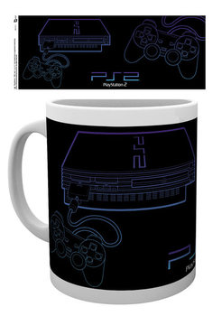 Tasse Playstation - PS2 Lineart
