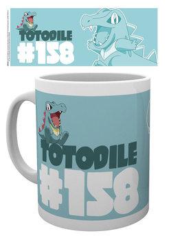 Tasse Pokemon - Totodile