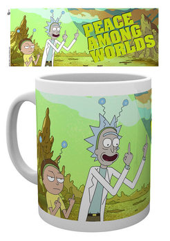Tasse Rick And Morty - Peace