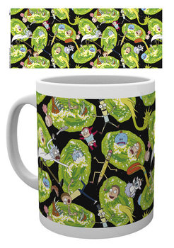 Tasse Rick And Morty - Portals