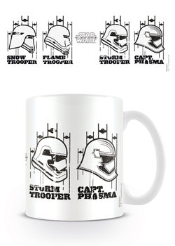 Tasse Star Wars: Episode VII - Helmets