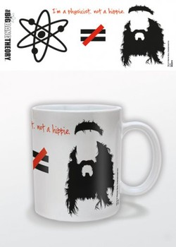 Tasse The Big Bang Theory - Hippie