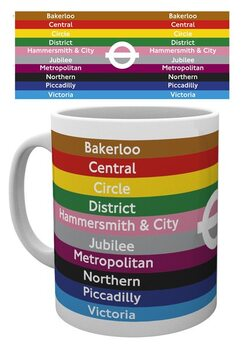 Tasse Transport For London - Lines
