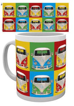Tasse VW Volkswagen Camper - Campers colours p.