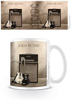AC/DC - In Rock We Trust Tasse