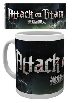 Attack On Titan – Logo Tasse