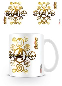 Avengers Infinity War - Connecting Icons Tasse