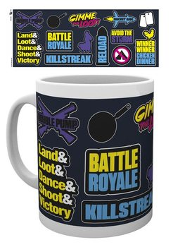 Battle Royale - Infographic Tasse