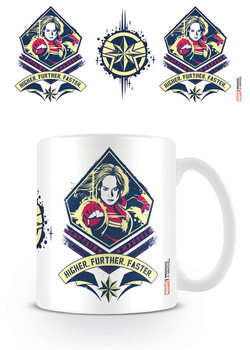 Captain Marvel - Higher, Further, Faster Tasse