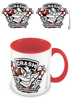 Crash Bandicoot - 1996 Emblem Tasse