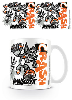 Crash Bandicoot - Stencil Tasse