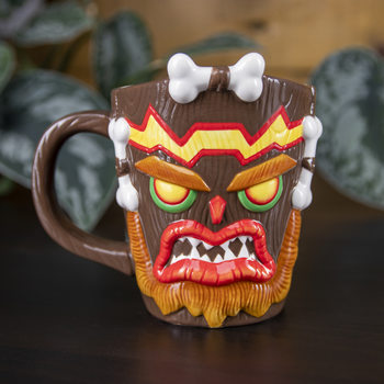 Crash Bandicoot - Uka Uka Tasse