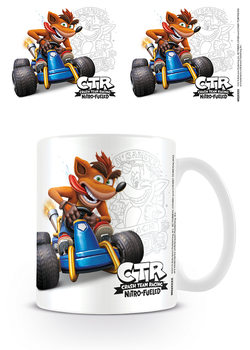 Crash Team Racing - Crash Emblem Tasse