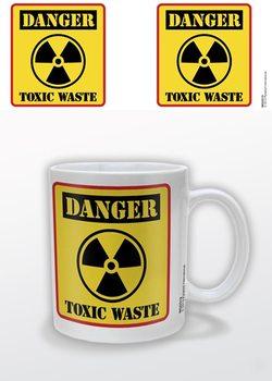 Danger Toxic Waste Tasse