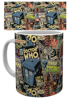 Doctor Who - Comic Books Tasse