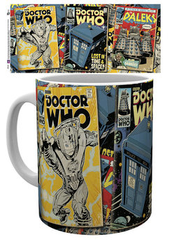 Doctor Who - Comics Tasse