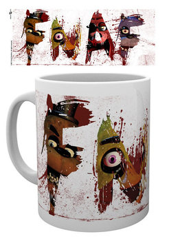 Five Nights At Freddy's - Letters Tasse