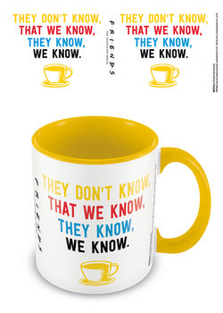 Friends - We Know Tasse