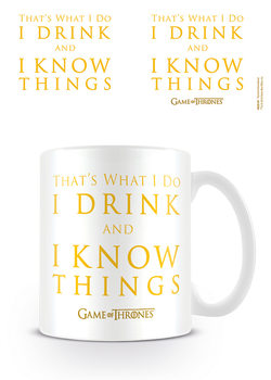 Game Of Thrones - Drink & Know Things Tasse