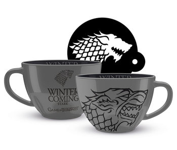 Game Of Thrones - Stark Tasse