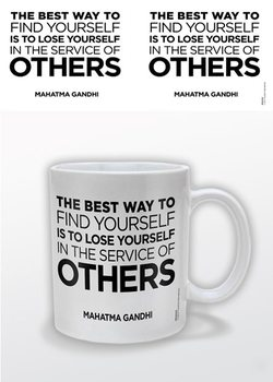Gandhi – Service of Others Tasse