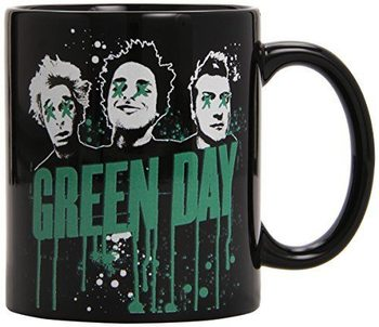 Green Day - Drips Boxed Black Tasse