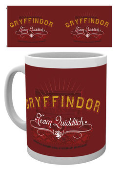 Harry Potter - Quidditch Crest Tasse