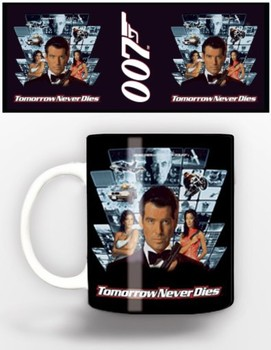 James Bond - tomorrow never dies Tasse