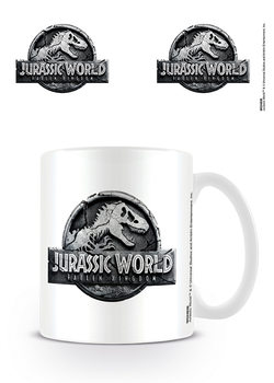 Jurassic World Fallen Kingdom - Logo Tasse