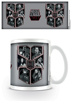 Justice League - Character Shield Tasse