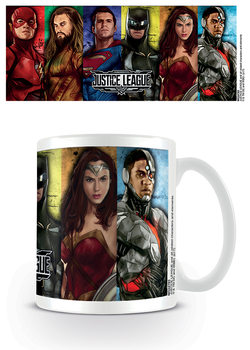 Justice League - Hero Stripes Tasse