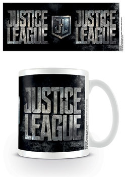 Justice League - Metallic Logo Tasse