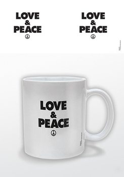 Love & Peace Tasse