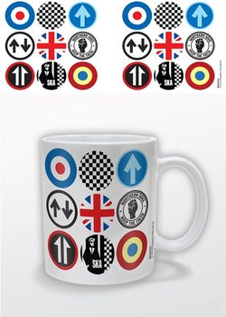 Mod and Ska Icons Tasse