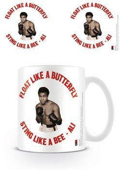 Muhammad Ali  - Float like a butterfly,sting like a bee - retro Tasse