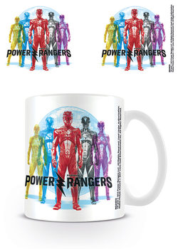 Power Rangers - CMYKR Tasse