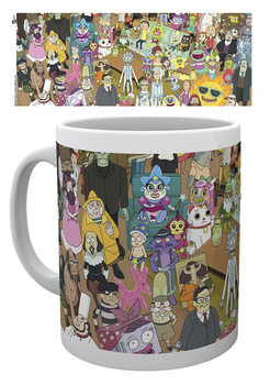 Rick And Morty - Characters Tasse