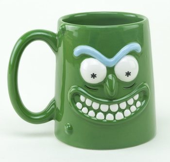 Rick and Morty - Pickle Rick Tasse