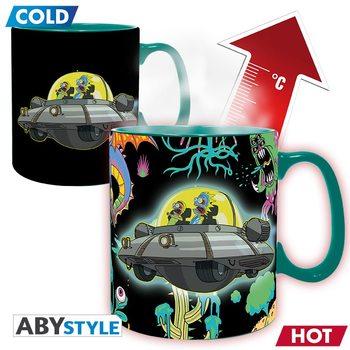Rick & Morty - Spaceship Tasse