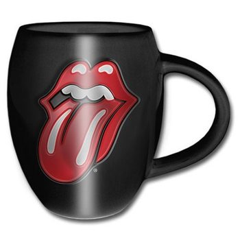 Rolling Stones - Classic Tongue Oval Tasse